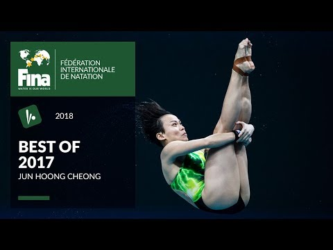 Jun Hoong Cheong's Diving triumph over China - Best of FINA 2017