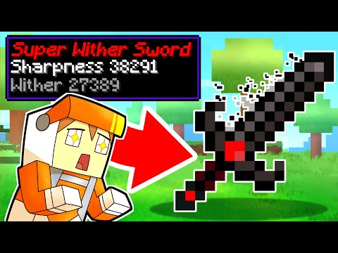 Minecraft but you can craft WEAPONS out of any MOBS