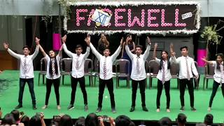 Farewell 2018 || superb dance performance by students ||  School life || board exams | practicals