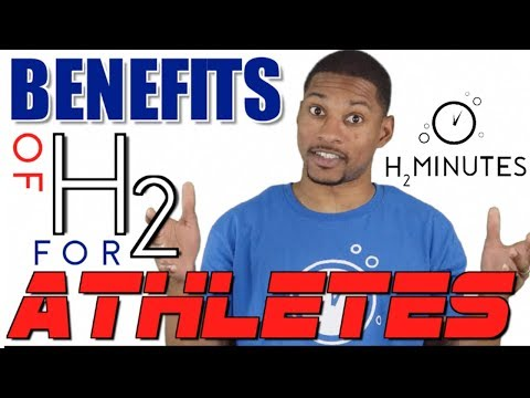Hydrogen Water Benefits for ATHLETES - Ep 23 - H2Minutes