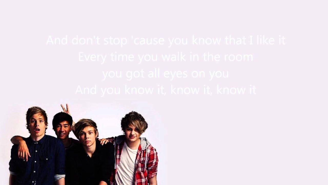 5SOS // Don't Stop (lyrics) - YouTube
