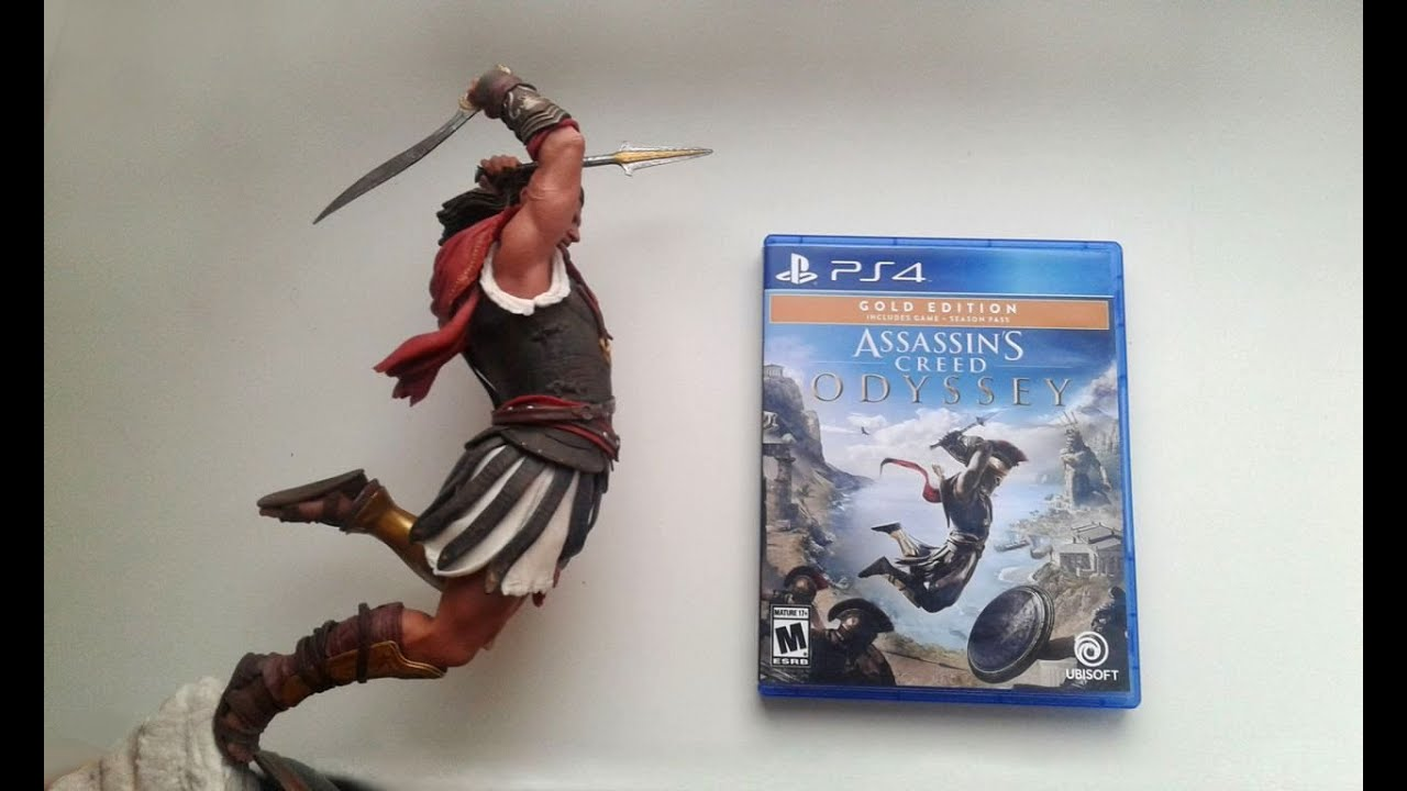 Unboxing Alexios Figure Assassin S Creed Odyssey Youtube
