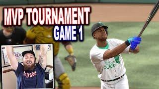 MVP TOURNAMENT GAME 1 vs GiraffeNeckGaming! Extra Inning Thriller! MLB The Show 17 | Diamond Dynasty