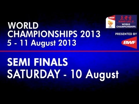 SF - WD - Wang XL./Yu Y. vs C.Pedersen/K.Rytter Juhl - 2013 BWF World Championships