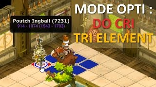 [DOFUS] (PRESENTATION) MODE OPTI : DO CRI + TRI ELEMENTAIRE, et test du rox !