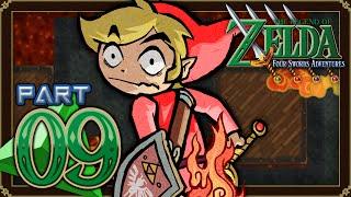 The Legend of Zelda: Four Swords Adventures - Part 9 - Tower of Flames