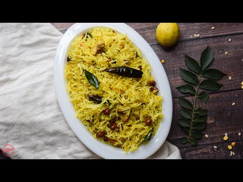 Lemon Rice in 10 Minutes   Lemon Rice Recipe
