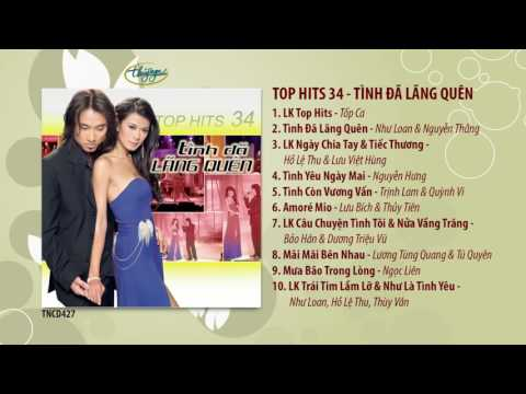 CD Top Hits 34 - Tình Đã Lãng Quên (TNCD427)