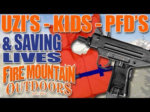 Uzi's, Kids, PFD's and saving lives.