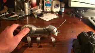Робот муравей из скрепок