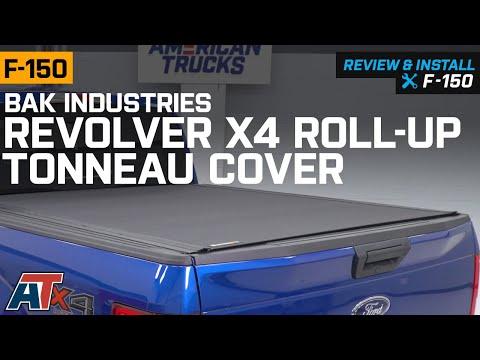 2015-2019 F150 BAK Industries Revolver X4 Roll-Up Tonneau Cover Review & Install