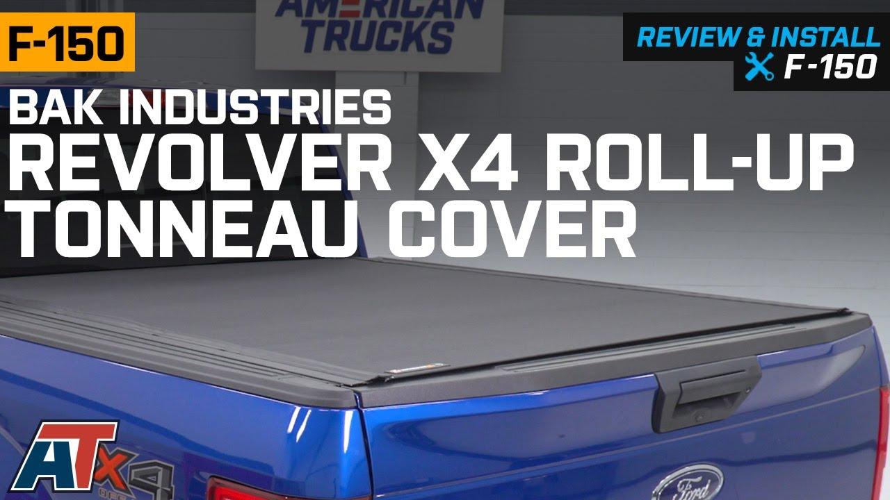 2015 2019 F150 Bak Industries Revolver X4 Roll Up Tonneau Cover