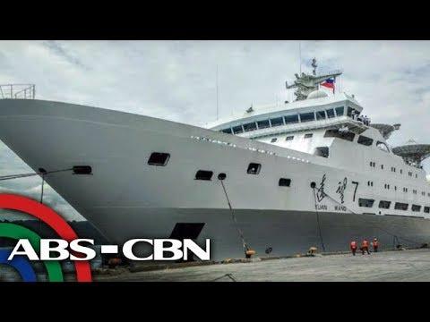 News Patrol: Maritime tracking ship ng China, dumaong sa Davao City | August 31, 2018
