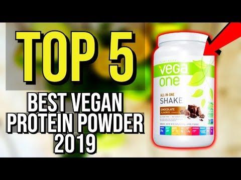 ✅ TOP 5: Best Vegan Protein Powder 2019