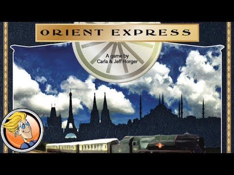 Orient Express — game preview at Origins Game Fair 2017