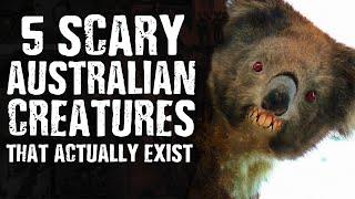 5 SCARY Australian CREATURES That Actua...
