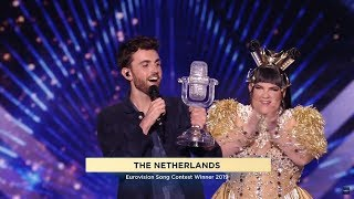 All qualifying moments of The Netherlands in the 10's and WINNING EUROVISION! - Dutch commentary