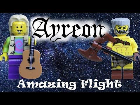 Ayreon - Amazing Flight [Brickfilm]