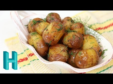 How to Make Rissole Potatoes |  Buttery Fried Baby Potatoes