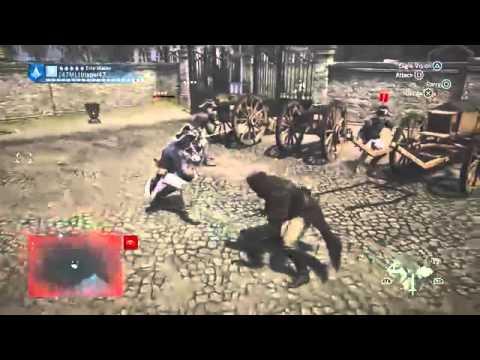 AC Unity - Random Ass Whuppins On French Army
