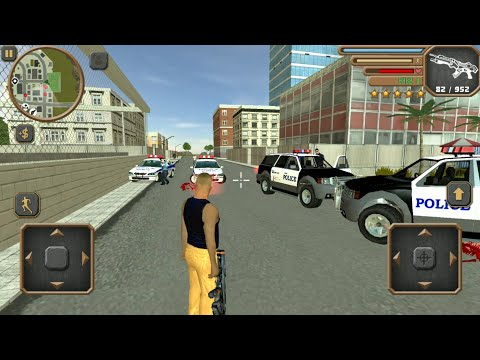 Grand Mafia Crime San Andreas #4 - Android IOS Gameplay HD