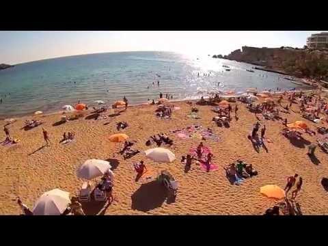 Golden Bay, Ghajn Tuffieha Bay & Gnejna Bay ~ MALTA