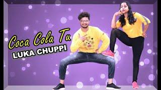 COCA COLA TU | LUKA CHUPPI | Sanju Dance Academy | Bollywood Dance Choreography
