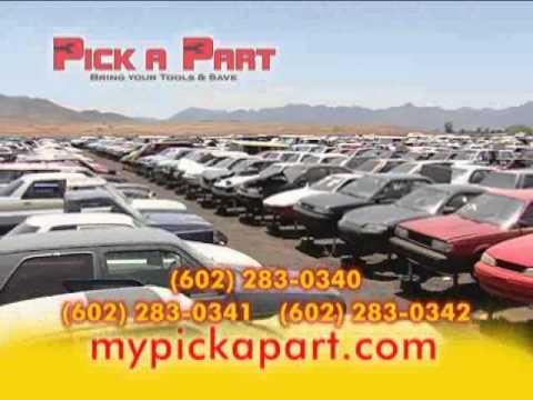 Discount Auto Salvage >> Pick A Part Arizona - Discount Auto Parts! - YouTube
