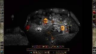 Icewind Dale gameplay #15 Smocze Oko cz.9 - walka z Yxunomei i śmierć Arundela(PC)[HD](PL)