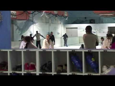 Ice Skating in Africa