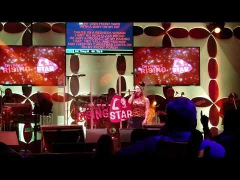 Rising star karaoke in universal city walk.