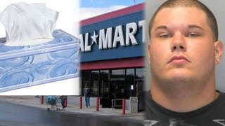 Semen Thrower Causes Sticky Situation At Walmart