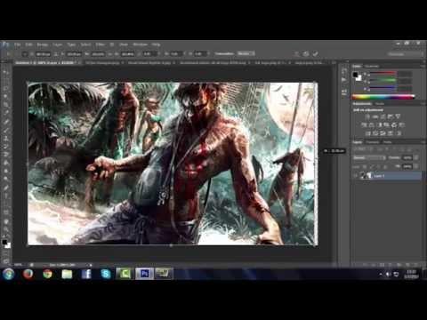 TZC - Adobe Photoshop CS6 : สอนทำปกคลิป