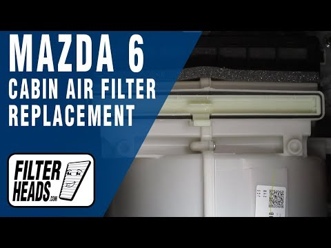 How to Replace Cabin Air Filter 2016 Mazda 6