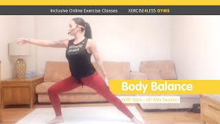 Online Les Mills Body Balance with Xercise4Less Instructor Sam – 60m Session
