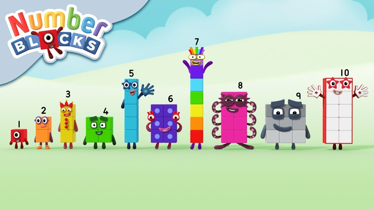 Numberblocks - Number Block Family | Learn to Count