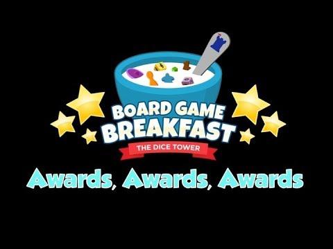 Board Game Breakfast - Awards, Awards, Awards