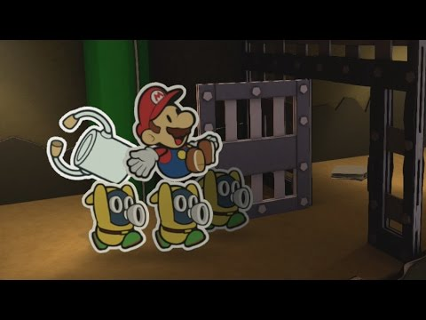 Mustard Cafe (Mini Star 1) - Paper Mario: Color Splash Walkthrough