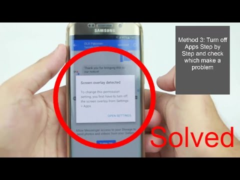 100% Solved Turn Off Screen Overlay Detected | Any Android Marshmallow