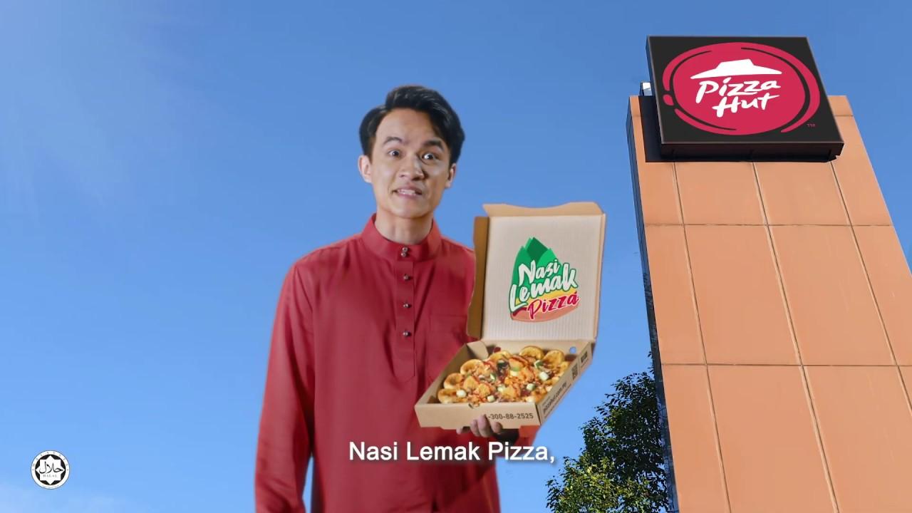 Pizza Hut Malaysia - Nasi Lemak Pizza