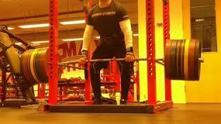 Gambar cover 260 kg yarım deadlift, vücut geliştirme, bodybuilding