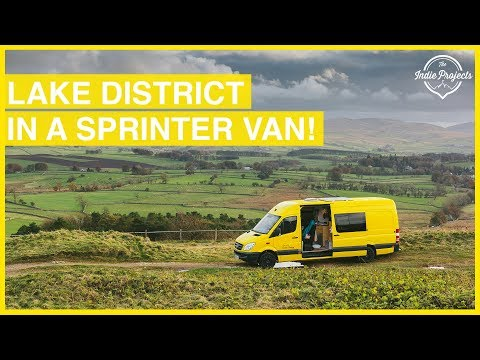 Living in a Converted Sprinter Van! The Lake District