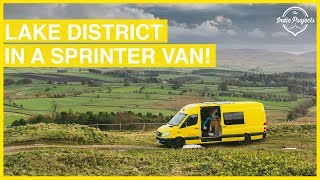 Living in a Converted Sprinter Van The Lake District