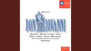 Don Giovanni K527, Atto Secondo, Scena prima: Trio: Ah taci, ingiusto core! (Donna...