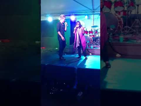 Billy Gilman and Angela Baccari at Misquamicut Fall Fest