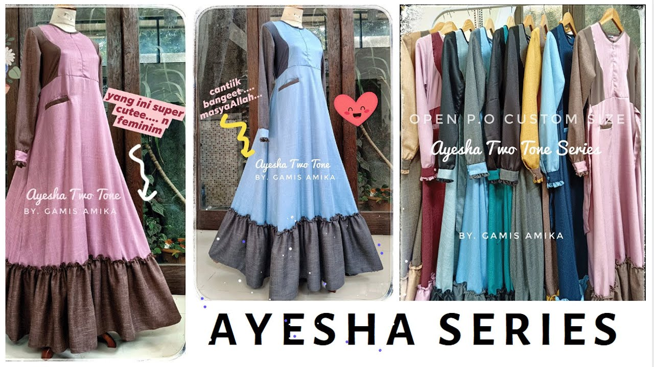 Gamis Azzahra Daily Series By Gamis Amika By Amika Studio