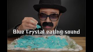 "[English ASMR] ""Breaking bad"" blue crystal candy eating sound💎 