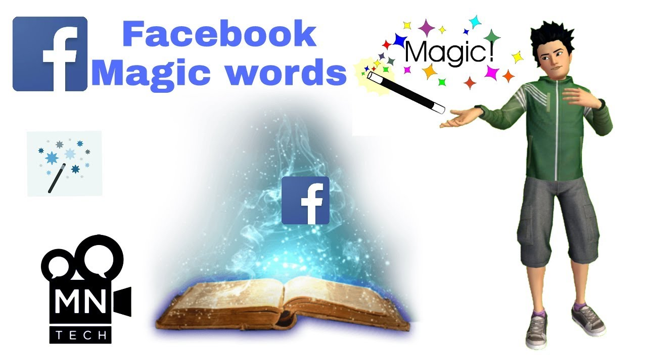How to Facebook Magic words in telugu