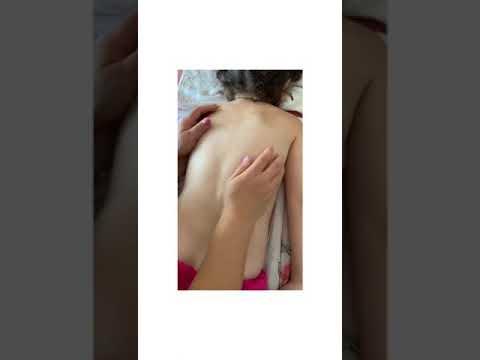 массаж спины для ребенка в 7 лет