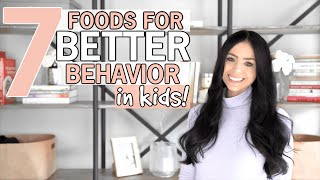 In today's video, i'm going to share healthy foods for kids and 7 that will support your children's behavior health! have you ever wondered if ther...